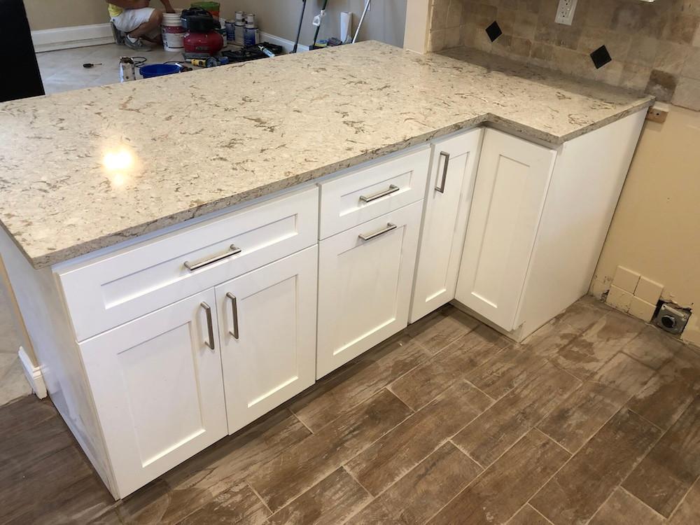 Cambria Kitchen countertops installation Boca Raton FL