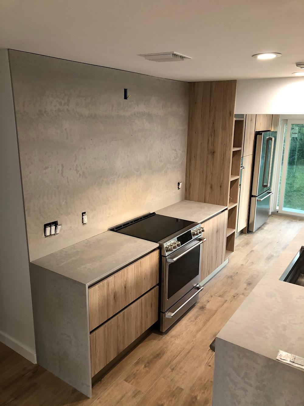 Caesarstone  Kitchen quartz countertops installer in Boca Raton FL Stone and Quartz LLC