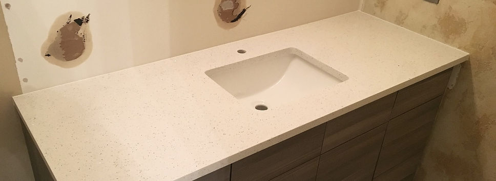 Quartz vanity countertops
