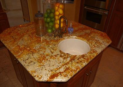 granite island remodeling countertops