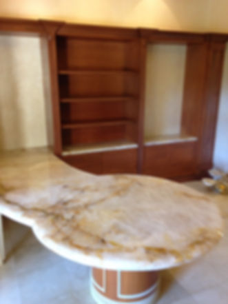 Pictures of onyx office countertops