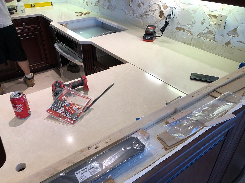 Cambria Quartz Countertops installation Boca Raton FL