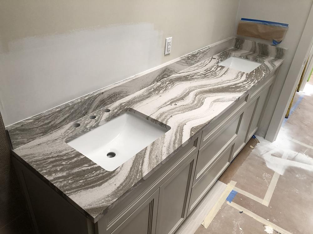 For Cambria Oakmoor quartz countertops Fab & installer feel free to contact the experts Stone and Quartz LLC located in Boca Raton FL
