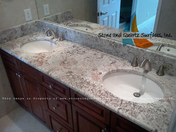 picture double sink vanity top