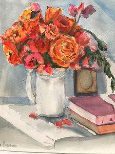 Roses in a White Vase.jpg