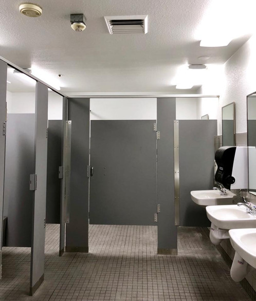 Restroom at the Post Office