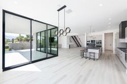 panoramic door open concept