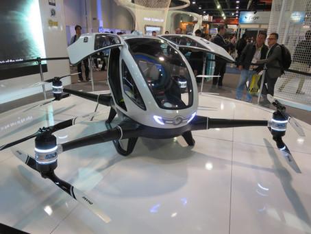 Aprueban drones taxi en Moscú
