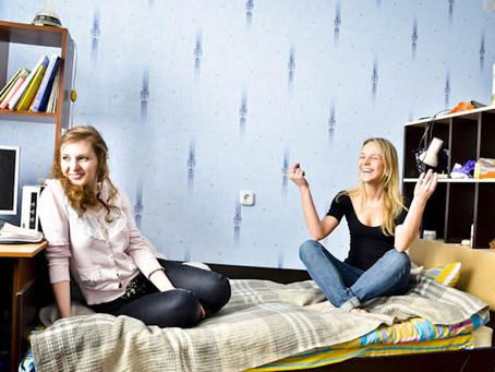 ¿Con quiénes se comparten las residencias estudiantiles?