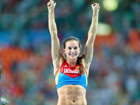 Yelena Isinbáyeva: una de las mejores atletas de la historia