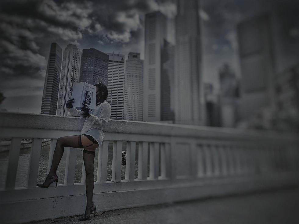 Caittrin x Singapore Skyline