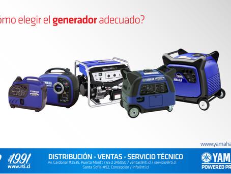 Cómo elegir el generador adecuado