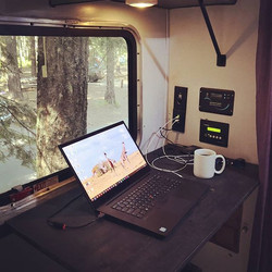 Very happy with how my road office turne
