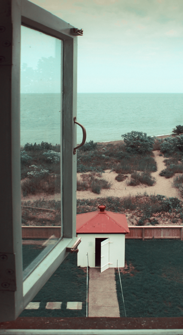 View from a Lighthouse Window