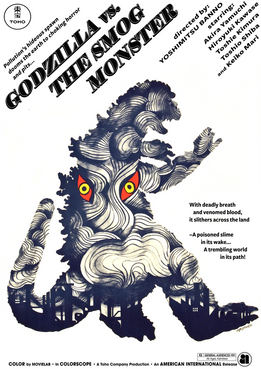 GODZILLA VS. THE SMOG MONSTER Poster