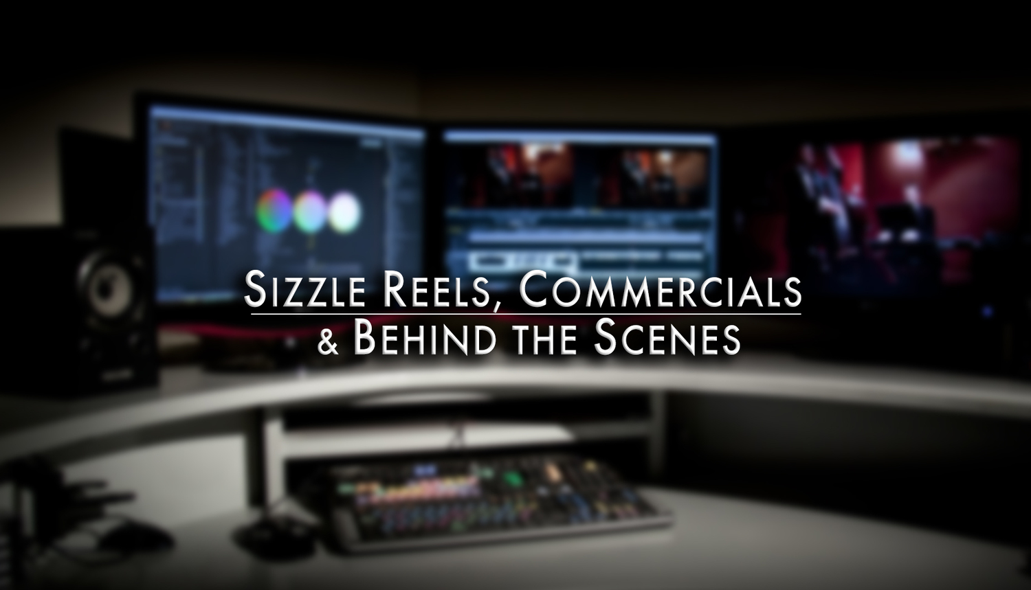Create a sizzle reel lean more