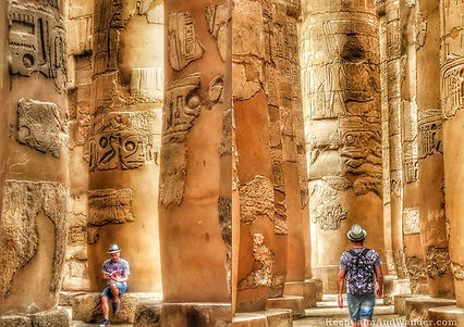 Karnak-Temple-Luxor-Papyrus-Columns-Egyp