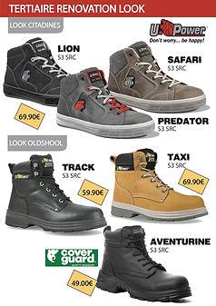 81  chaussures de sécurité  TERTIARE LOO