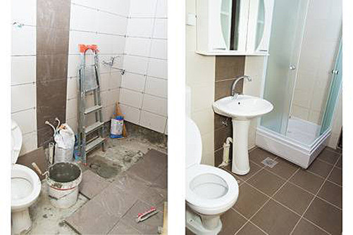 Bathroom renovation in Nîmes