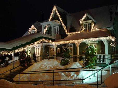 Noël : installez vos guirlandes électriques en toute sécurité