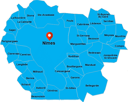 carte intervention plombier nimes