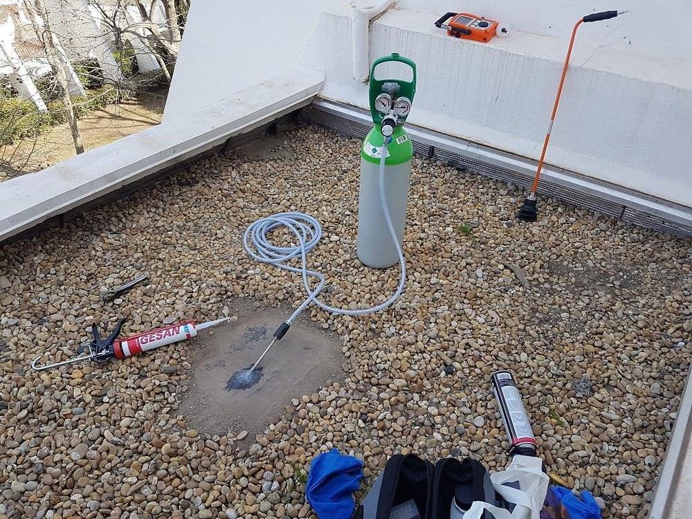 Recherche de fuite par gaz traceur Nîmes
