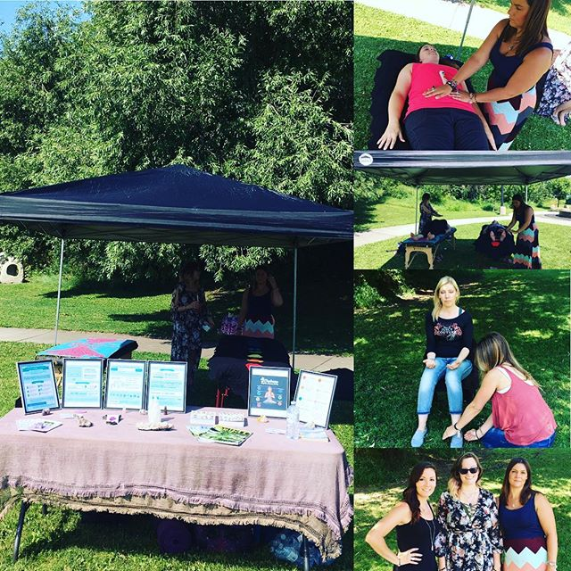 Reiki in the park was amazing! It was such a perfect day