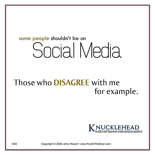 K34 Get Off Social Media