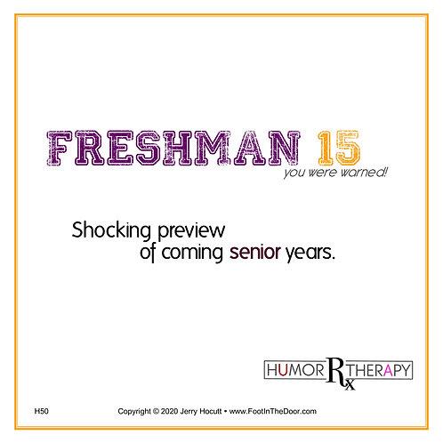 H50 Freshman15