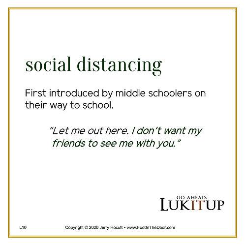 L10 Social Distancing