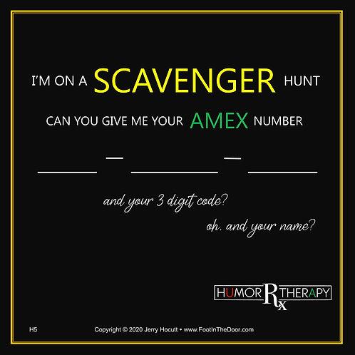 H5 Scavenger Hunt