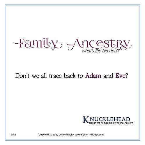 K45 Family Ancestry