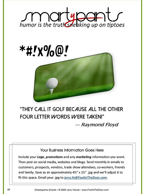 49 They Call It Golf