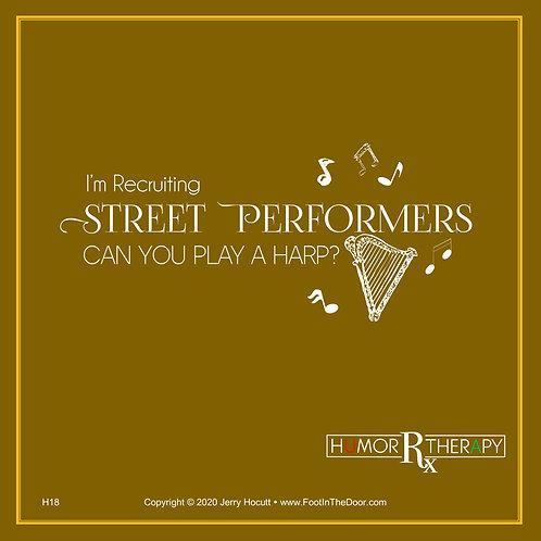 H18 Street Performers