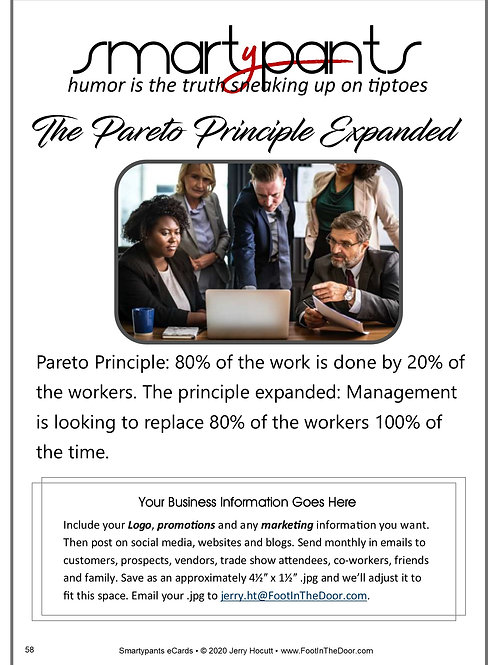 58 The Pareto Principle Expanded