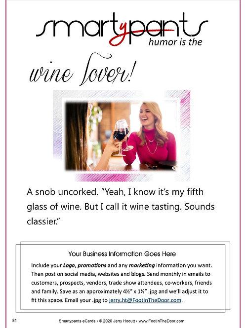 81 Wine Lover!