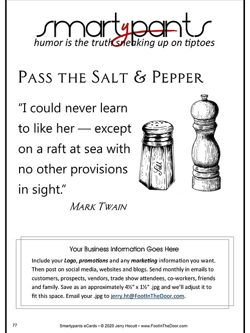 77 Salt & Pepper