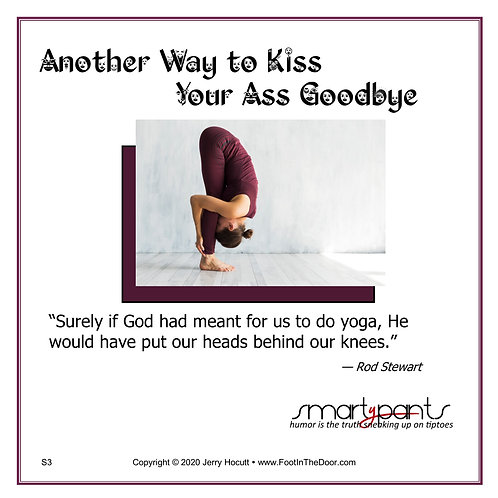 S3 Another Way to Kiss Your Ass Goodbye
