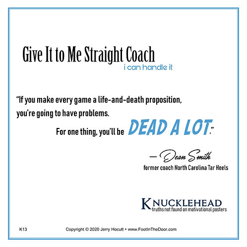 K13 Life and Death Proposition