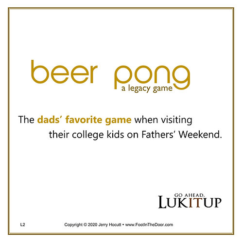 L2 Beer Pong