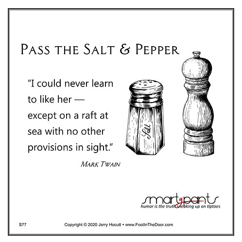 S77 Salt and Pepper