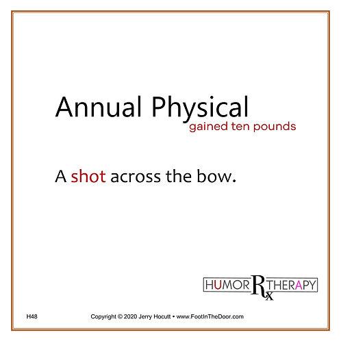 H48 Annual Physical