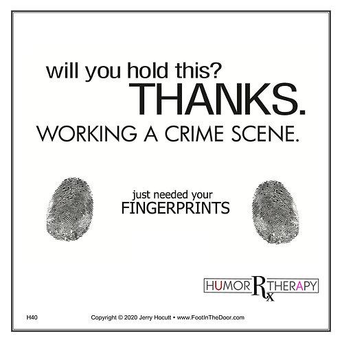 H40 Crime Scene