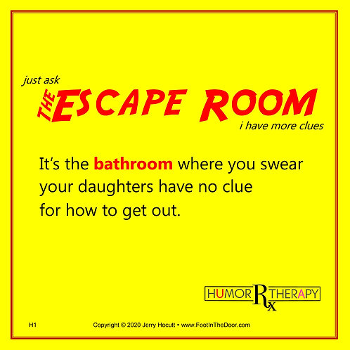 H1 The Escape Room