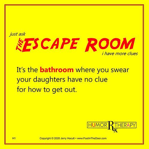 H1 The Escape Room