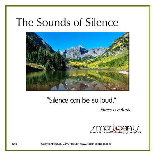 S48 Sounds of Silence