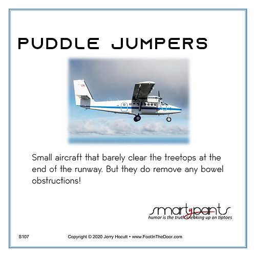 S107 Puddle Jumpers