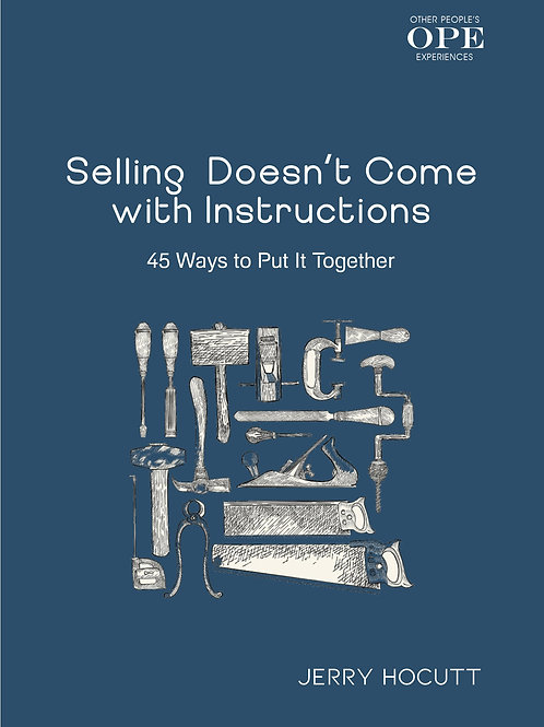 Selling Doesn't Come with Instructions