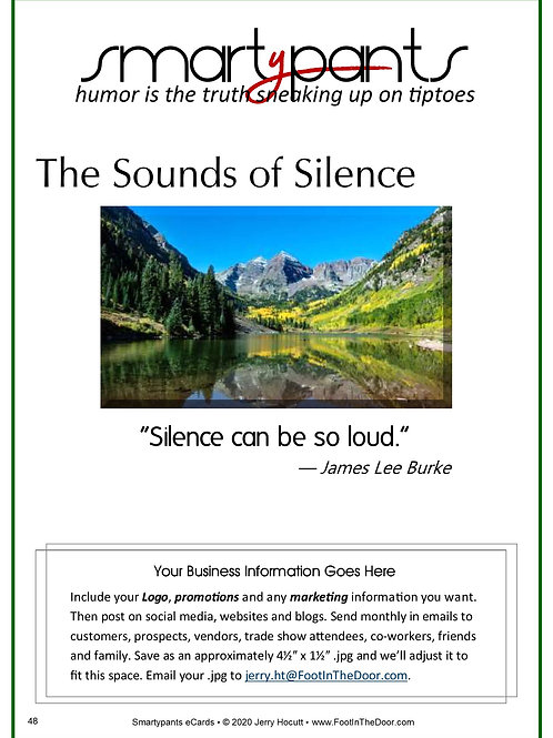 48 Sounds of Silence