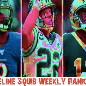 Weekly Consensus Rankings